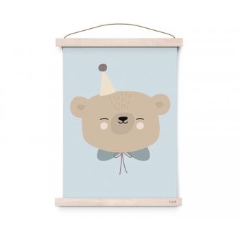Circus Bear Poster