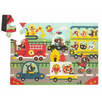On the Road Puzzle 24pcs