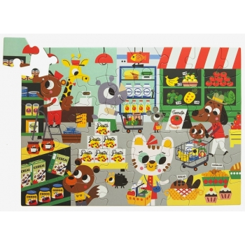 In the Supermarket Puzzle 48 pcs