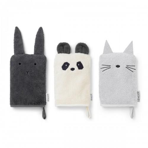 Washcloth Sylvester - Rabbit - 3 pack