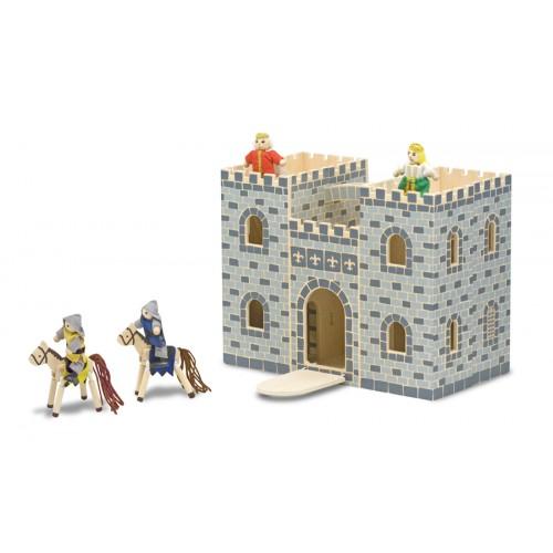 Fold & Go Castle Dollhouse
