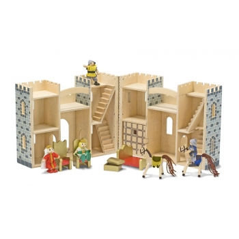 Fold & Go Castle Dollhouse