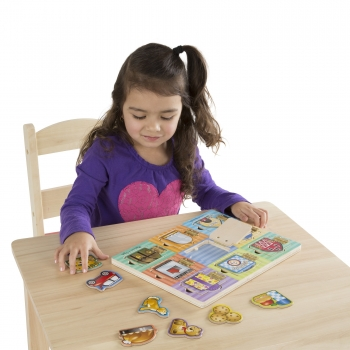 Magnetic Hide & Seek Board