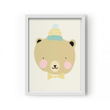 Frisky Grizzly Poster