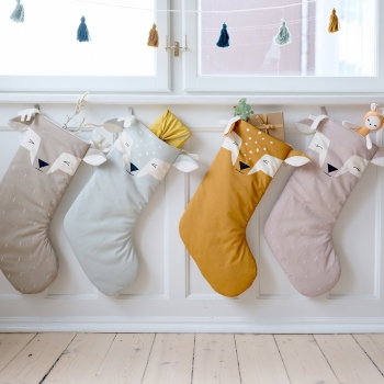 Shy Fawn Christmas Stocking