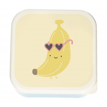 Lunch box Aloha Banana - Set of 3