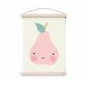 Miss Pear Poster