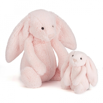 Bashful Pink Bunny Medium Soft Toy