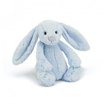 Bashful Blue Bunny Medium Soft Toy