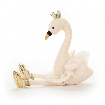 Fancy Swan Soft Toy