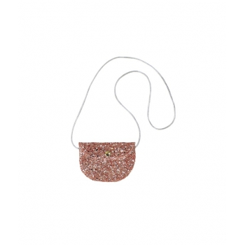 Rose Glitter Coin Purse