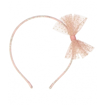 Liberty Capel Rose Hair Band with Tutu Bow