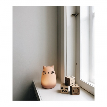 Rose Cat Night Light Winston