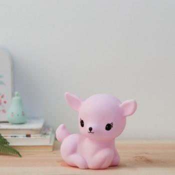 Mini Pink Deer Night Light