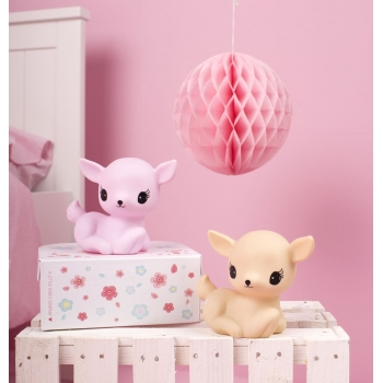 Mini Pink Deer Night Light