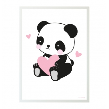 Panda Lover Poster