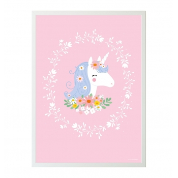 Lovely Unicorn Poster