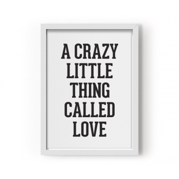 Crazy little Thing Poster