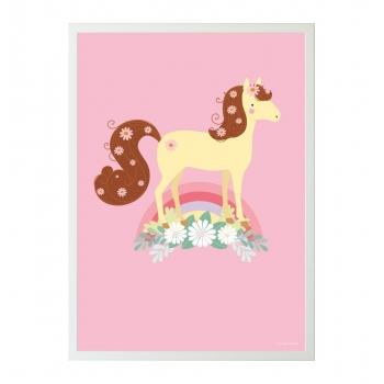 Lovely Horse Poster