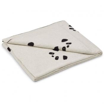 Panda Kirsten Junior Blanket Beige