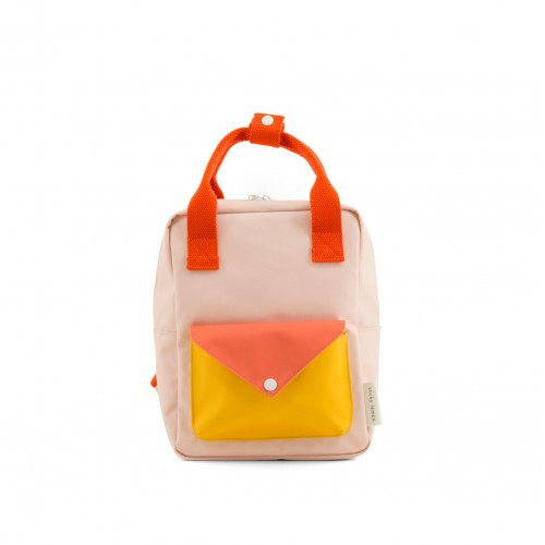 Small Soft Pink Envelope Backpack