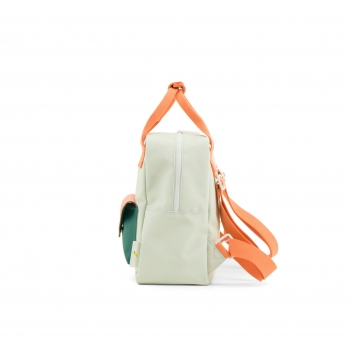 Small Powder Blue / Mint Envelope Backpack