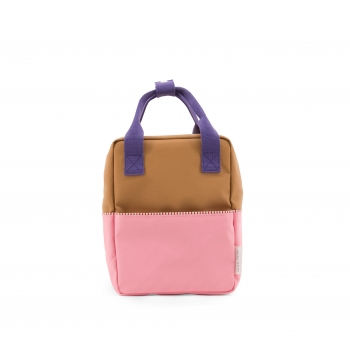 Small Gold / Pink / Purple Backpack