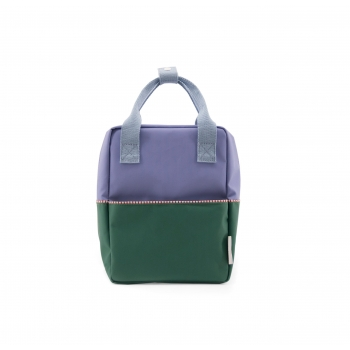 Small Purple / Green/ Blue Backpack