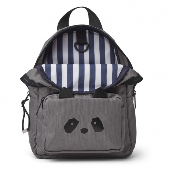 Grey Panda Backpack - Allan