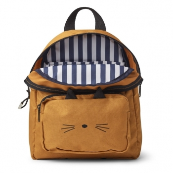 Mustard Cat Backpack - Allan