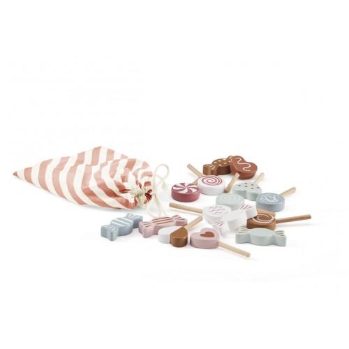 Wooden Candy Set
