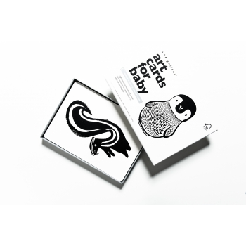 Black & White Art Cards