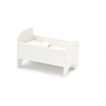 White Doll Bed
