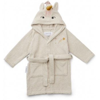 Unicorn Sandy Bathrobe - Lily