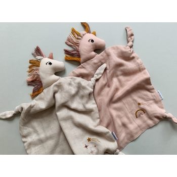 Agnete Unicorn Cuddle Cloth Sorbet Rose