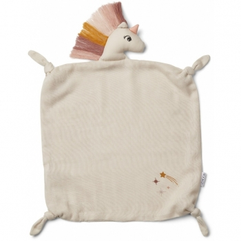 Agnete Unicorn Cuddle Cloth Sandy