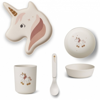 Elin Unicorn Bamboo Set