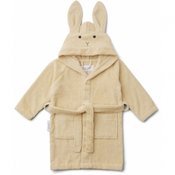Rabbit Bathrobe - Lily - Smoothie Yellow