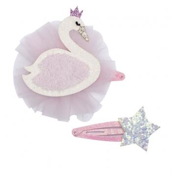 Fable Swan Hair Clip Set