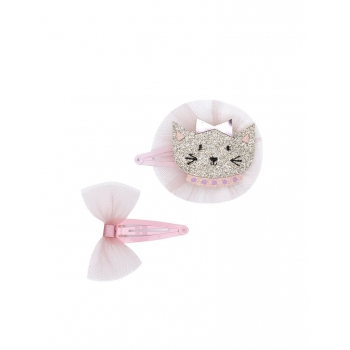 Well Dressed Cat Hair Clip Set