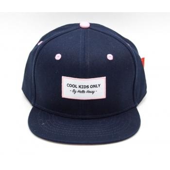 Navy Blue / Pink Cap