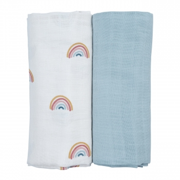 Rainbow Swaddle 2 Pack