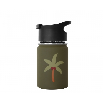 Palm Tree Stainless Steel Water Bottle