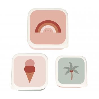 Tropics Lunchbox - Set of 3