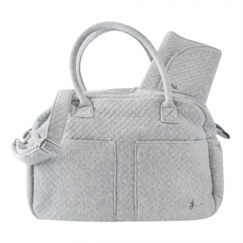 Mineral Grey Diaper Bag