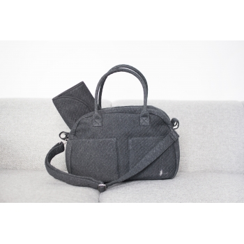 Night Grey Diaper Bag