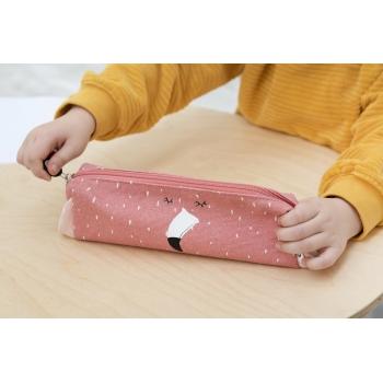 Mrs Flamingo Long Pencil Case