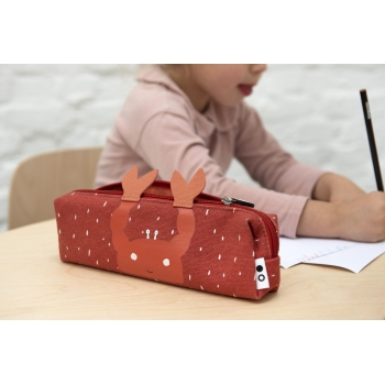 Mrs Crab Long Pencil Case