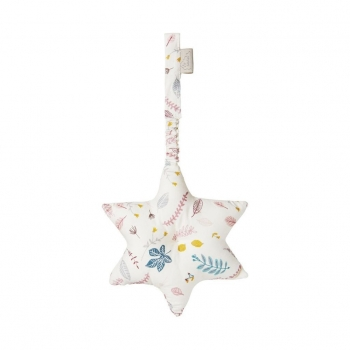 Soft Pink Starfish Play gym Toy