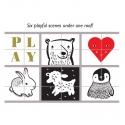 Playful Scenes Play House Art Blocks